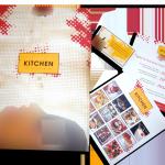 Catering-Die-Cut-Folder+Buss-Card+Postcard