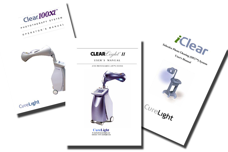 Curelight-Product-Manuals